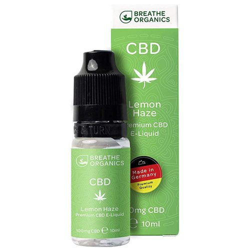 Premium CBD Liquid Lemon Haze 100 mg Von Breathe Organics